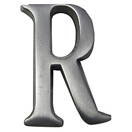Aluminium House Letter R