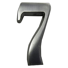 Aluminium House Number 7