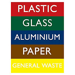 The House Nameplate Company PVC Self Adhesive Recycling