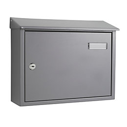 The House Nameplate Company Grey Letterbox (H)280mm (W)365mm