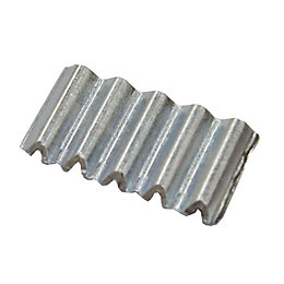 B&Q Carbon Steel Corrugated Nail, Pack of 25