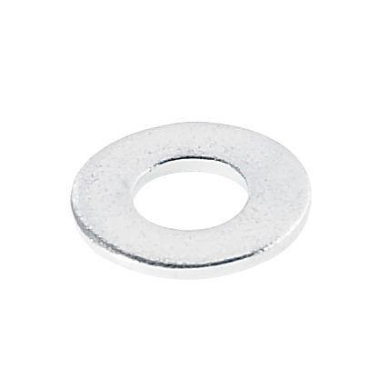 Avf M4 Steel Flat Washer, Pack Of 10