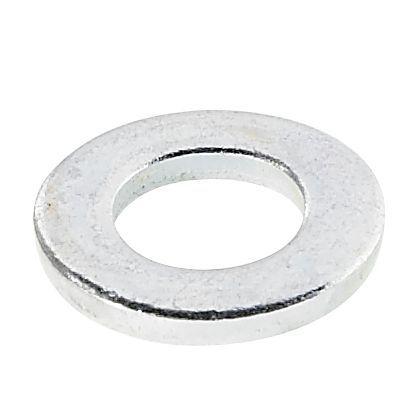 Avf M6 Steel Flat Washer, Pack Of 10