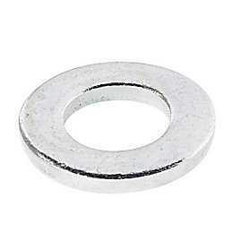 AVF M6 Steel Flat Washer, Pack of 10