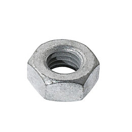 AVF M10 Steel Hex Nut, Pack of 10