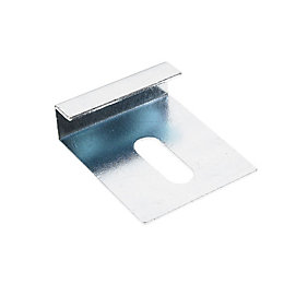 GypLyner Metal Mirror Clip (L)140mm (Dia)6mm, Pack of