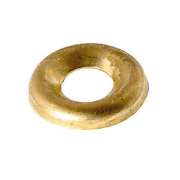 AVF M5 Brass Screw Cup Washer, Pack of
