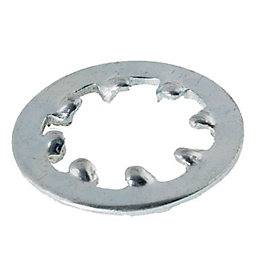 AVF M6 Steel Internal Tooth Lock Washer, Pack
