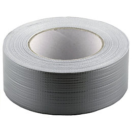 Heavy Duty Silver Effect Gaffer Tape (L)50m