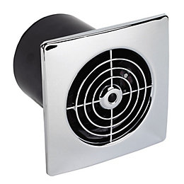 Manrose 12473 Flush Extractor Fan with Timer(D)100mm