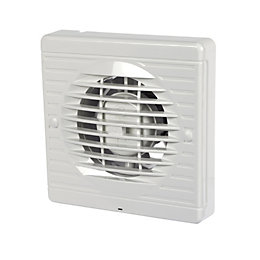 Manrose 15927 Bathroom Extractor Fan with Timer (D)100mm
