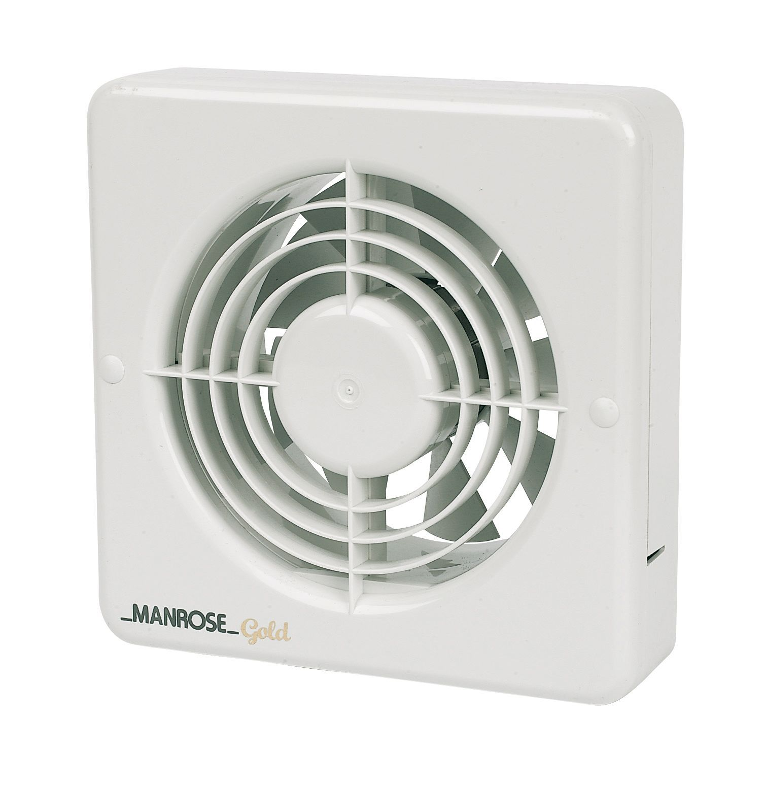 Bathroom extractor fans advice - Manrose 22693 Bathroom Extractor Fan D 149mm Departments Diy At B Q