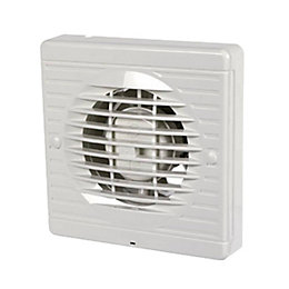 Manrose XF100H Bathroom Extractor Fan with Humidity Timer(D)98mm