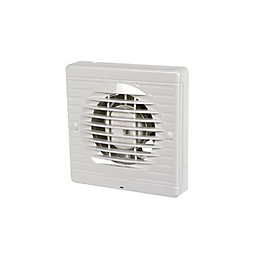 Manrose VXF100LVS Low Energy Bathroom Extractor Fan (D)98mm
