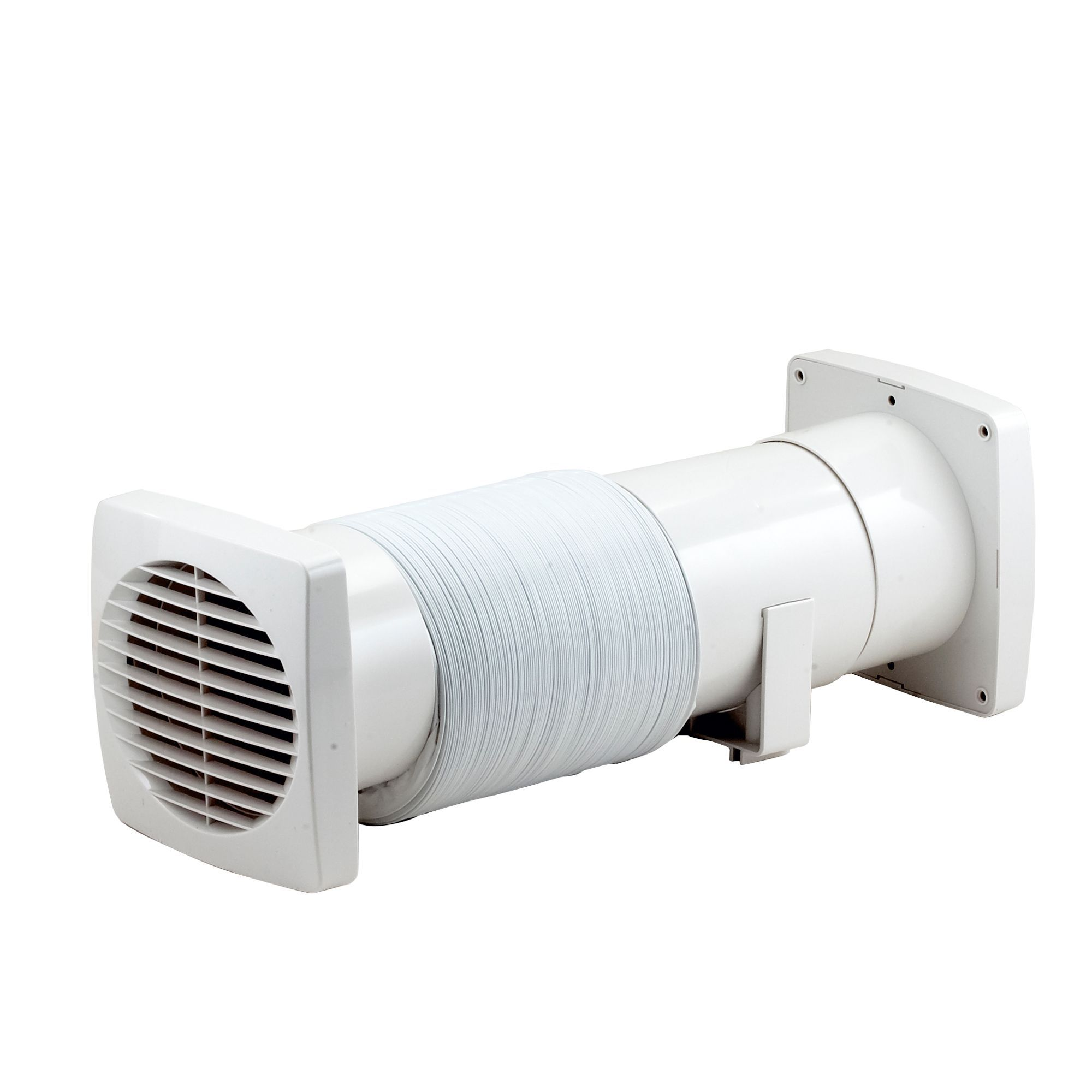 Bathroom extractor fans with timer - Manrose Vdisf100s Bathroom Shower Fan Extractor Fan Kit D 98mm