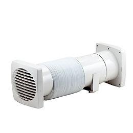 Manrose Vdisf100T Bathroom Shower Fan Extractor Fan Kit