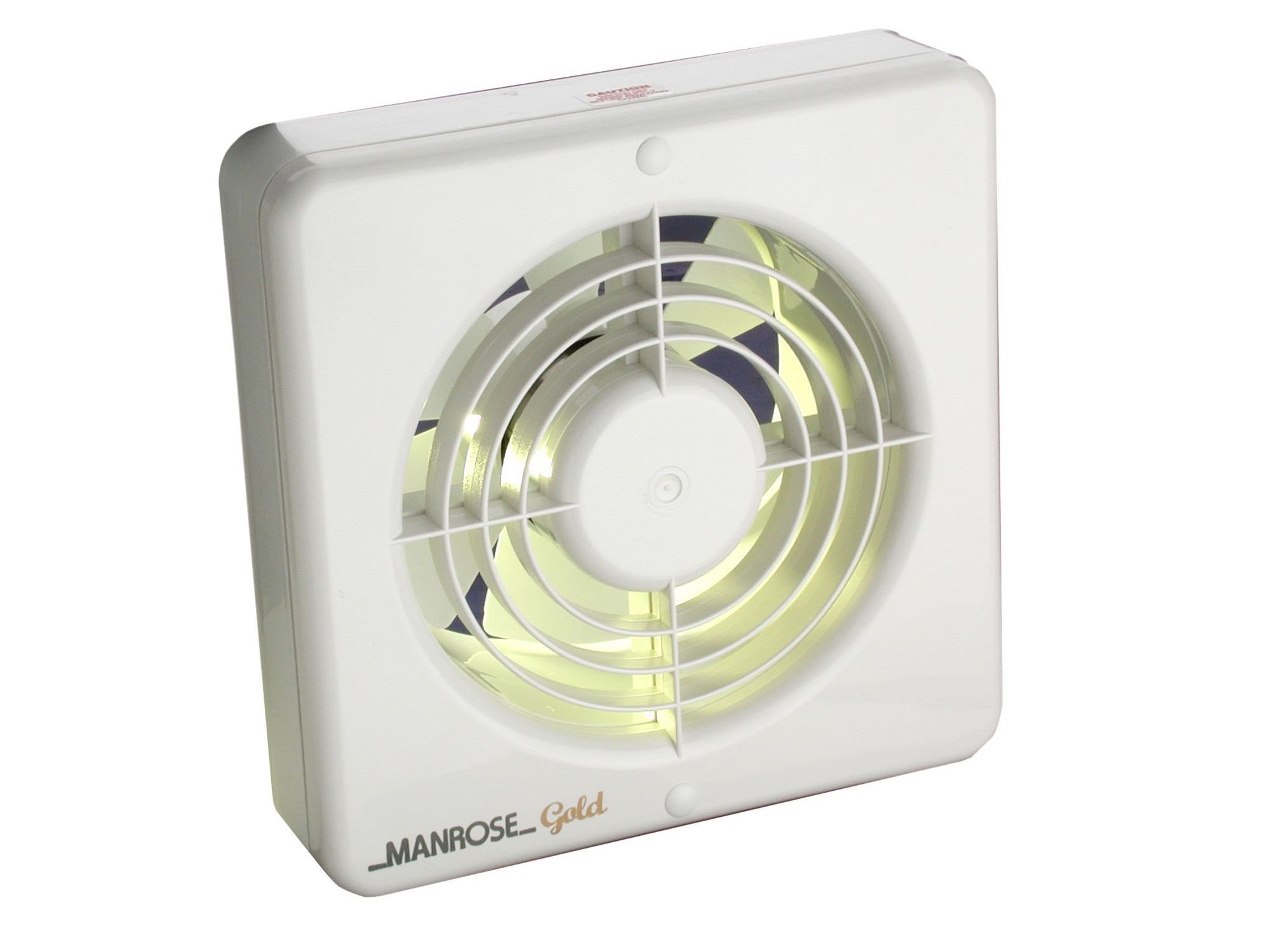 Manrose 13424 kitchen extractor fan with pullcord d 150mm for Kitchen extractor fan