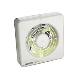 Manrose 13424 Kitchen Extractor Fan with Pullcord (D)150mm