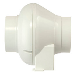 Vent-Axia VTURBOT In-Line Turbo Extractor Fan with Timer