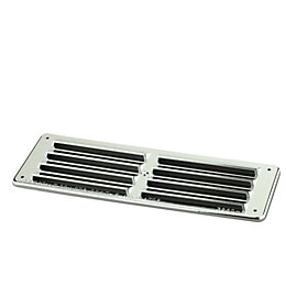 Manrose Silver Louvered Gas Vent