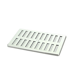 Manrose Silver Adjustable Vent (H)152mm (W)229mm