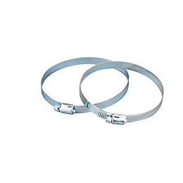 Manrose Hose Clamp 100mm, Pack of 2