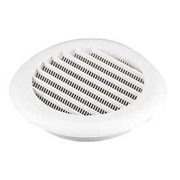Manrose White External Hooded Vent