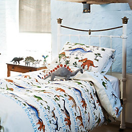 Emma Bridgewater Dinosaurs Blue Single Bed Set