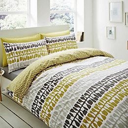 Lotta Jansdotter Follie Patterned Green Single Bed Set