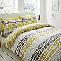 Lotta Jansdotter Follie Patterned Green Double Bed Set