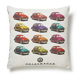 VW Beetle Multicolour Cushion