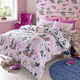 Roald Dahl Matilda Purple Single Bed Set