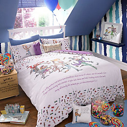 Roald Dahl Charlie Multicolour Single Bed Set