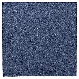 Colours Dark Blue Carpet Tile