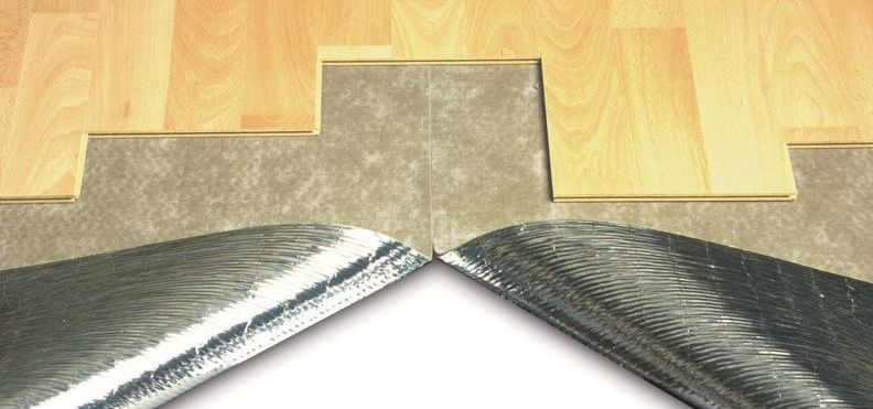 Duralay Silentwalk 3mm Sponge Rubber with Foil Backing Laminate Floor & Glueless Wood Floor Underlay
