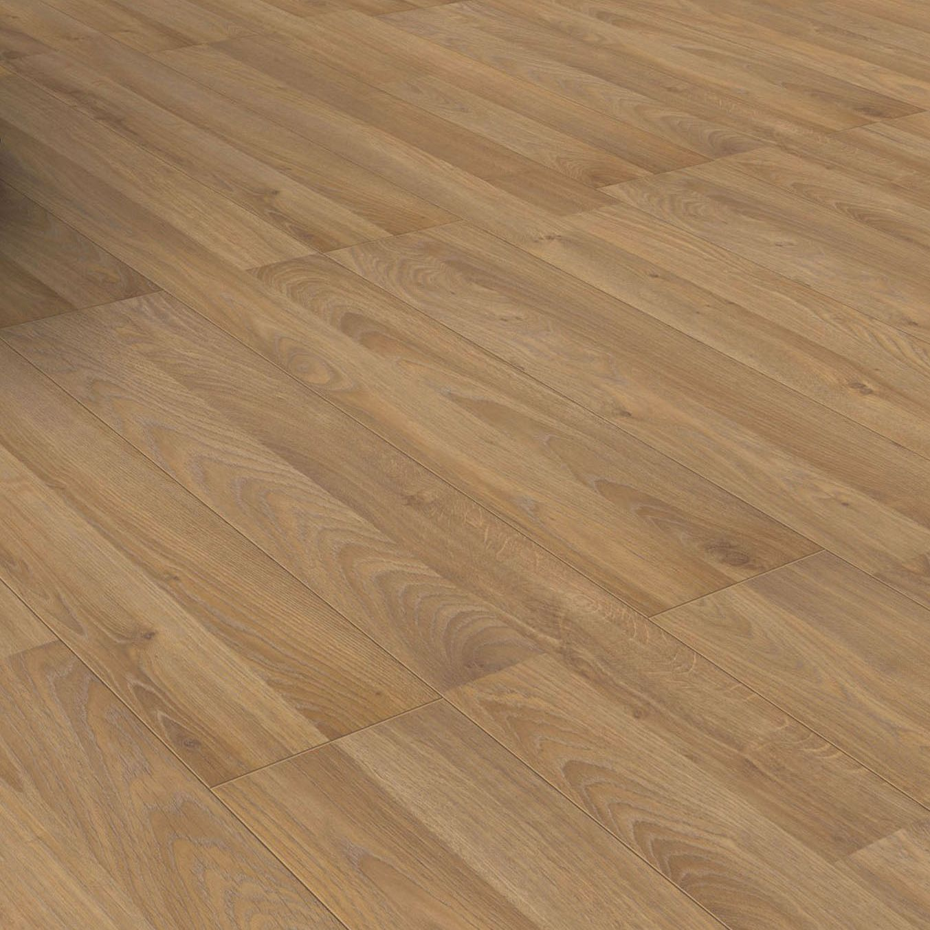 new boxed golden oak effect laminate flooring 2 m pack