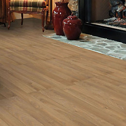Golden Oak Effect Laminate Flooring Sample