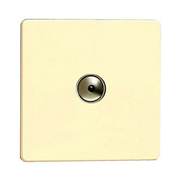 Varilight 1-Way Single White Chocolate Remote Control Dimmer