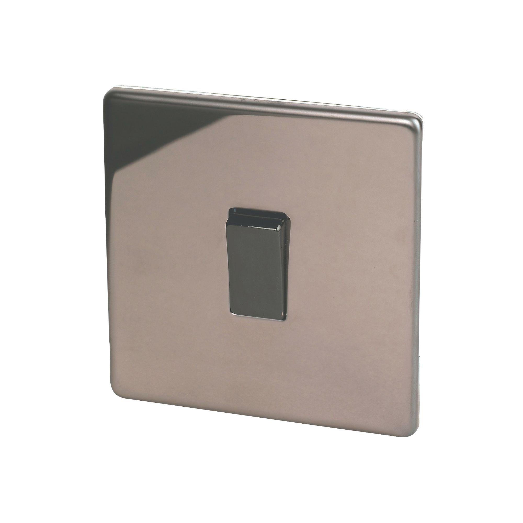 Varilight 2-Way Single Polished Bronze Light Switch : Departments : DIY at Bu0026Q