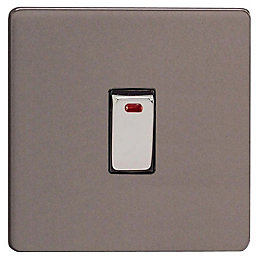 Varilight 20A Double Pole Switched Cooker Switch