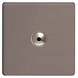 Varilight 1-Way Single Slate Grey Remote Control Dimmer