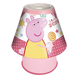 Fun Fair Peppa Pig Pink Table Lamp