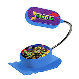 Ninja Turtles Blue Clip-On Bed Light