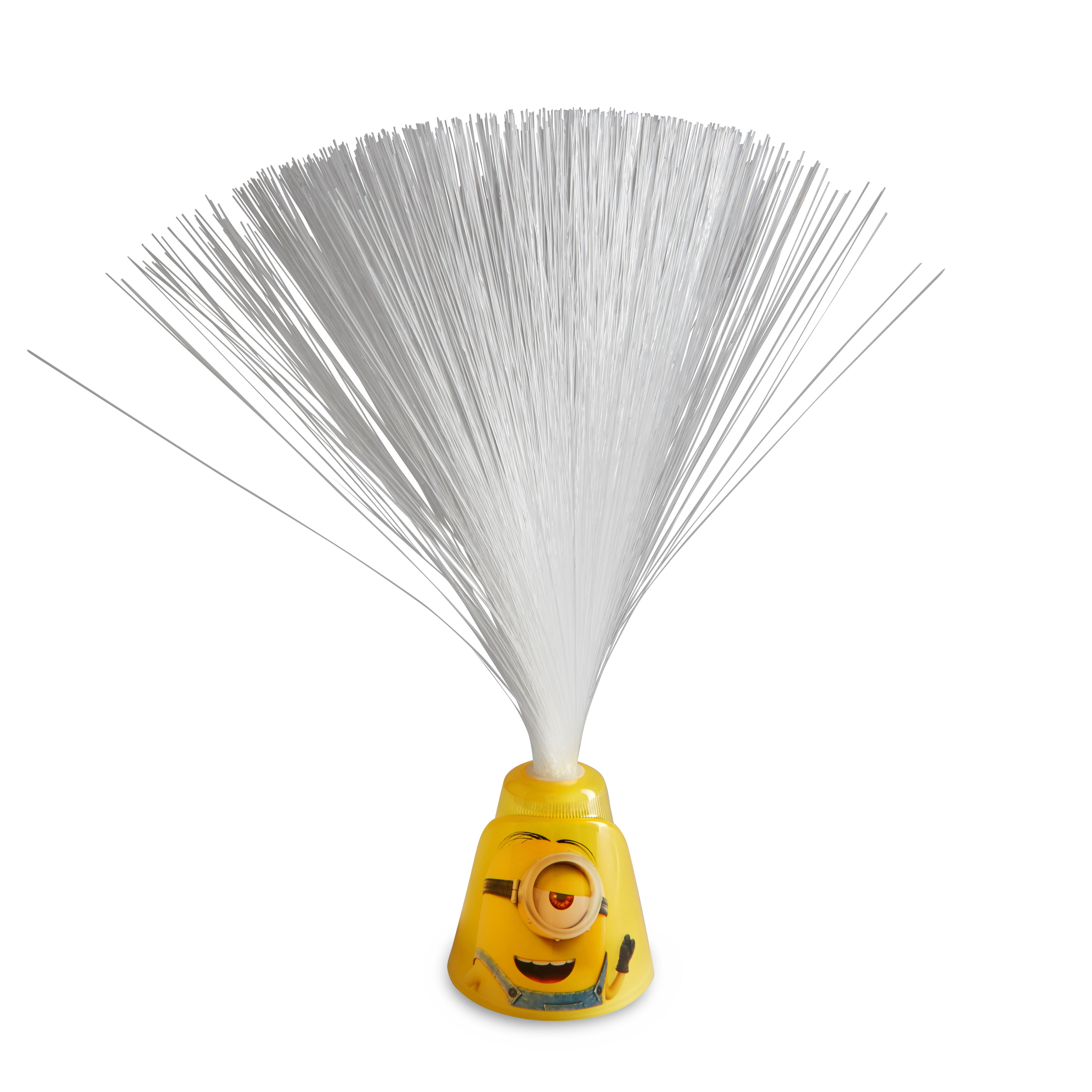 Minions Stuart Yellow Fibre Optic Lamp