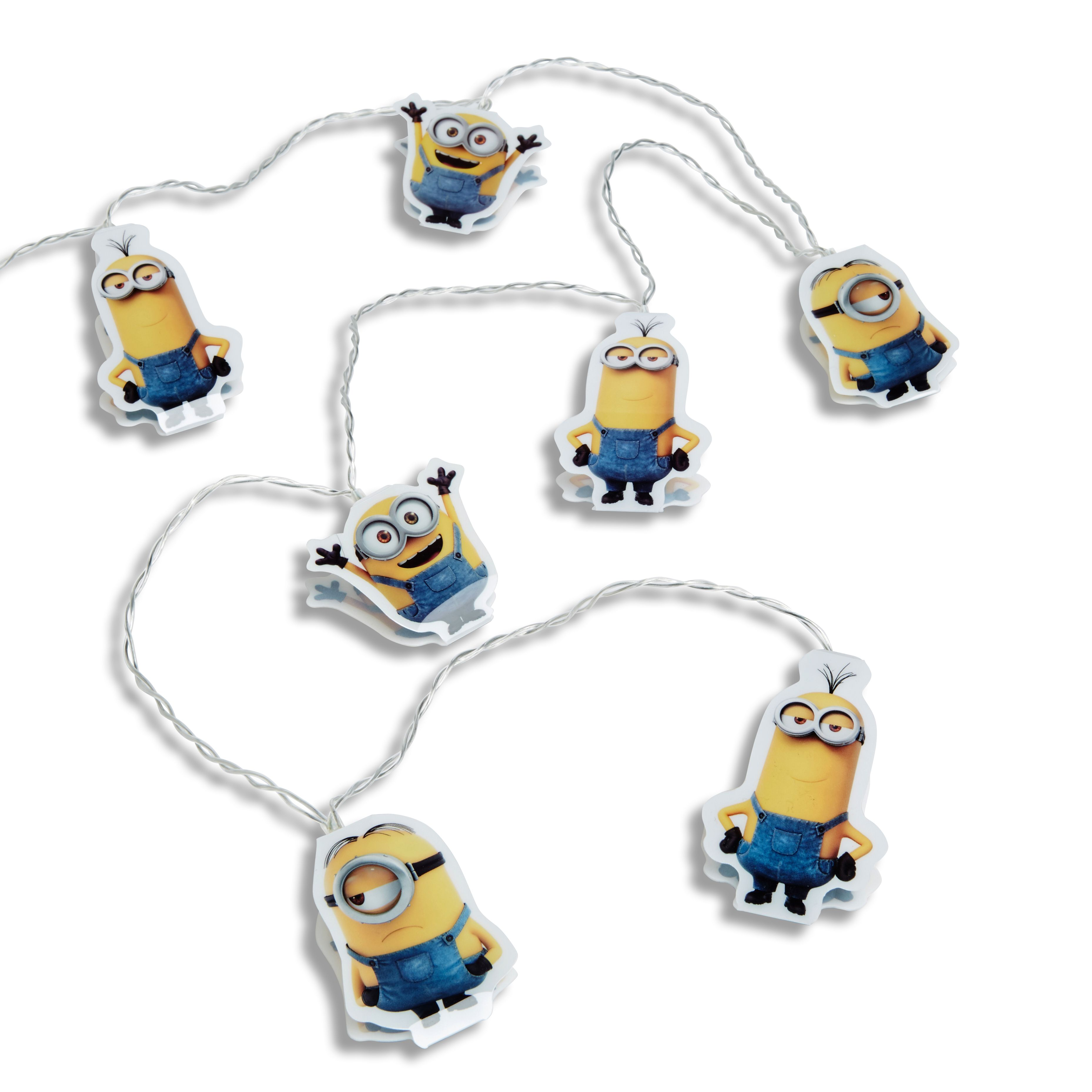 Minions Battery Operated 1 LED Bob Kevin Amp Stuart String