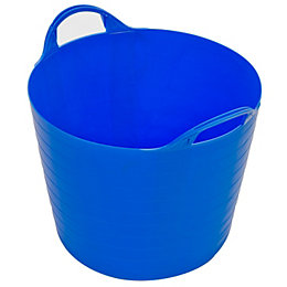 Strata Blue 40L Plastic Flexi Tub