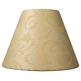 Damask Cream Candle Light Shade (D)7cm
