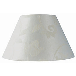Belgravia Cream Damask Jacquard Light Shade (D)15cm