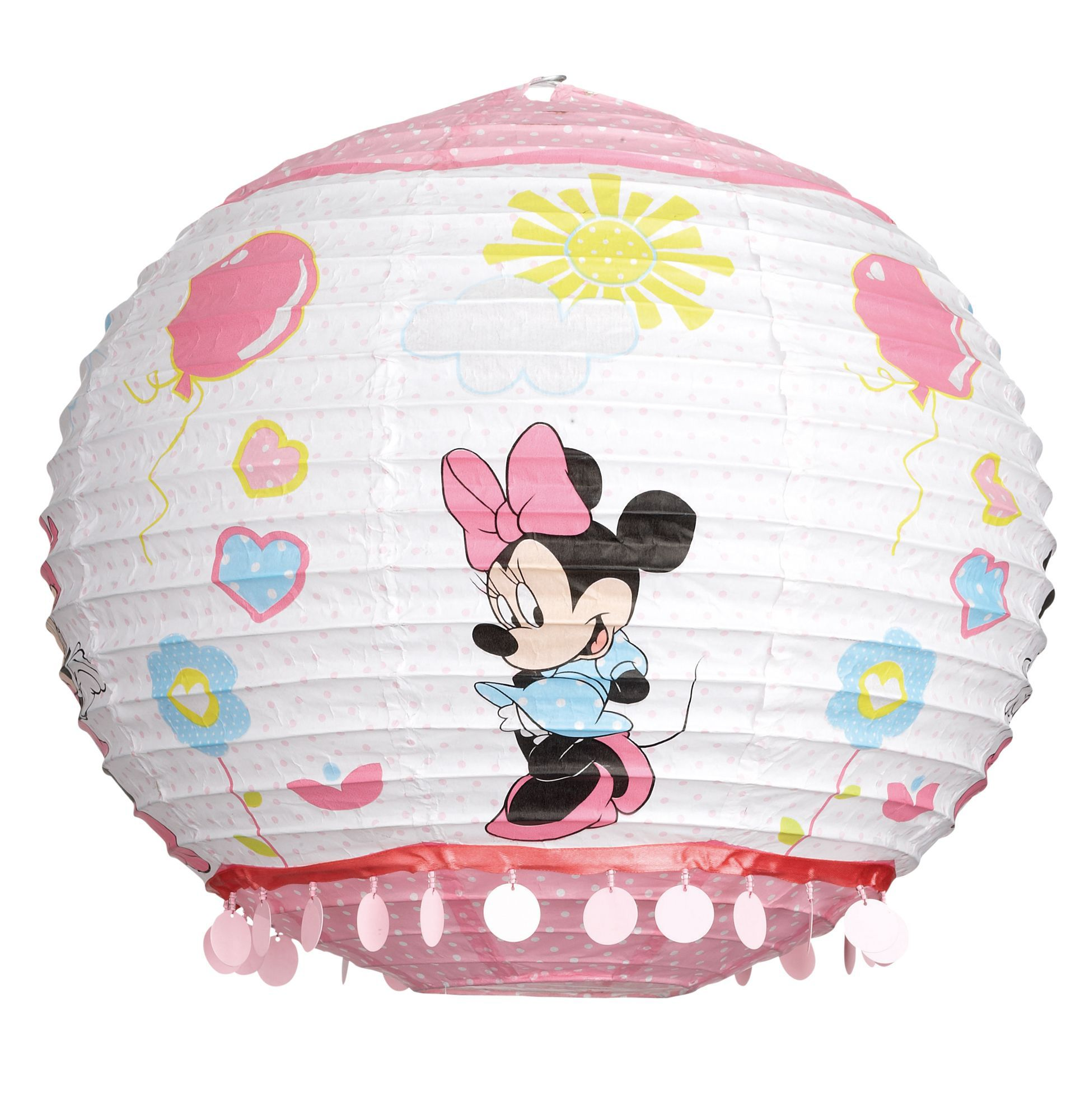 Minnie mouse lamp shade pinkdisney minnie mouse hello gorgeous lamp disney pink disney minnie mouse light shade d 350mm aloadofball Image collections