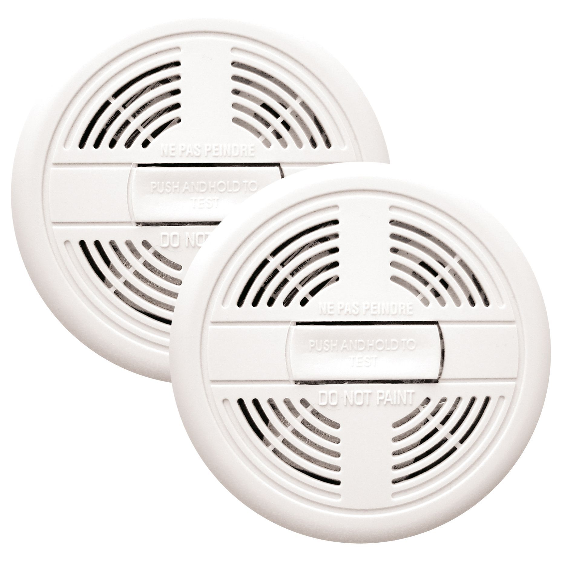 first alert ionisation smoke alarm pack of 2 departments diy at bu0026q - First Alert Smoke Alarm